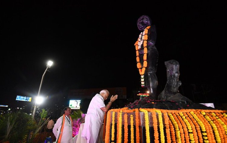 PM Modi says, Birsa Munda's contribution to freedom movement and efforts for social harmony will always inspire people