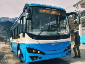 himachal electric buses